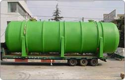 Horizontal Fiberglass Storage Tanks
