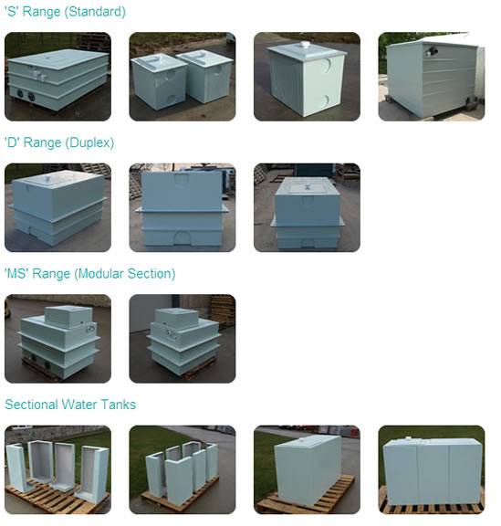 GRP Water Tanks